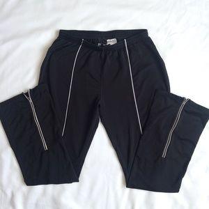 {NIKE} Dri Fit Long Black Training Pants M
